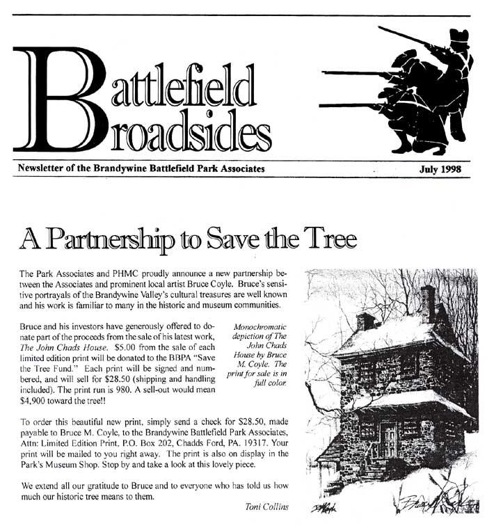 Bruce M Coyle in the Battlefields Broads, July 1998