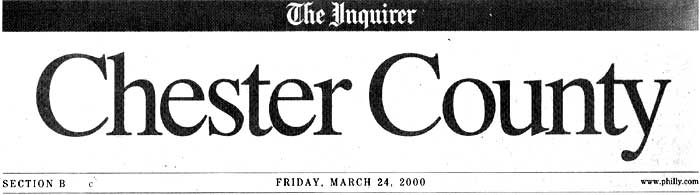 Bruce M. Coyle in the Philadelphia Inquirer, March 24, 2000 (a)