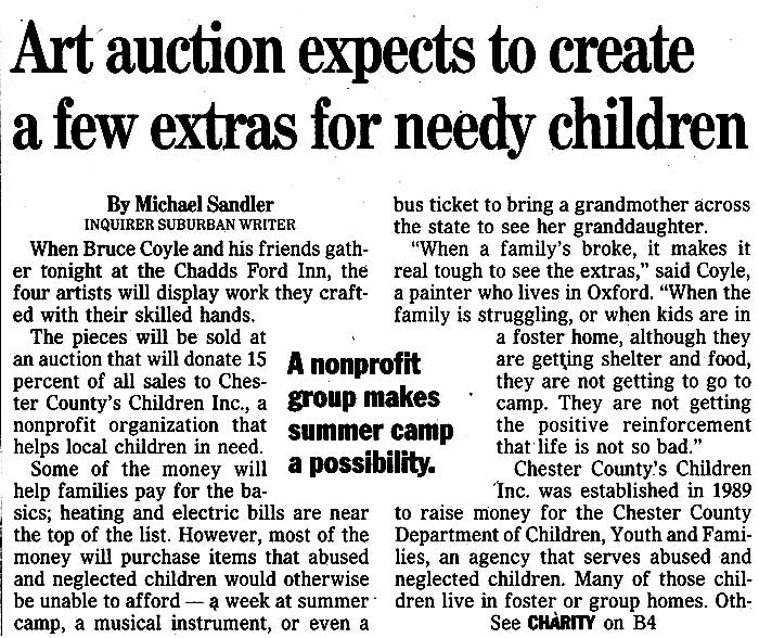 Bruce M. Coyle in the Philadelphia Inquirer, March 24, 2000 (b)