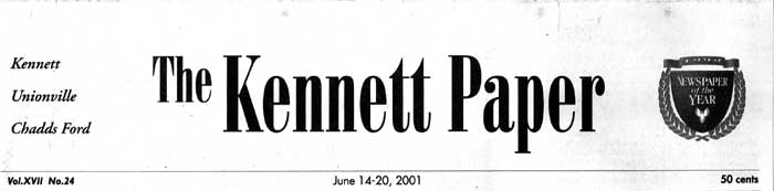 Bruce M. Coyle in the Kennett Paper, June 14-20, 2002 (a)