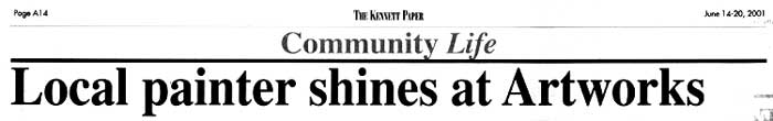 Bruce M. Coyle in the Kennett Paper, June 14-20, 2002 (b)