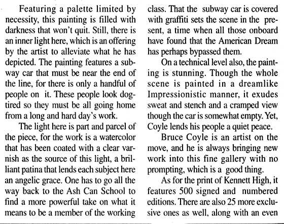 Bruce M. Coyle in the Kennett Paper, June 14-20, 2002 (d)